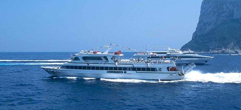 Mezzi Veloci Navigazione Libera del Golfo amalfi jet