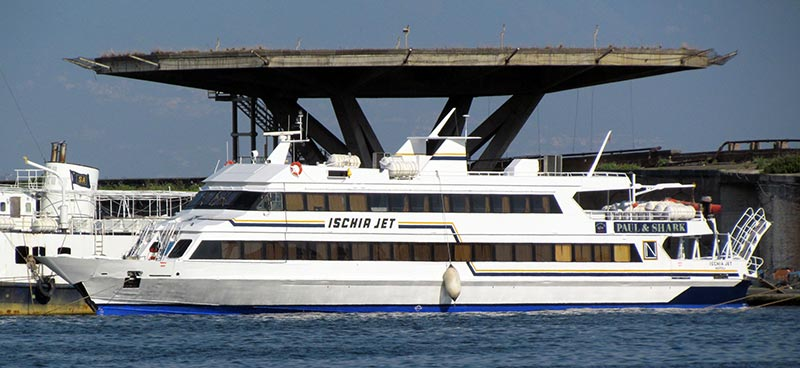 Aliscafi Navigazione Libera del Golfo ischia jet