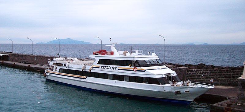 Monocarene e Catamarani Navigazione Libera del Golfo napoli jet