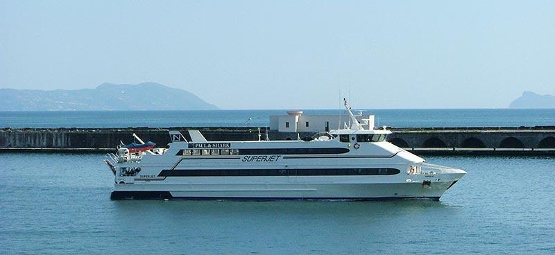 Monocarene e Catamarani Navigazione Libera del Golfo super jet