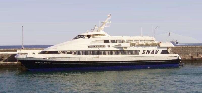 Monocarene e Catamarani Snav alcione