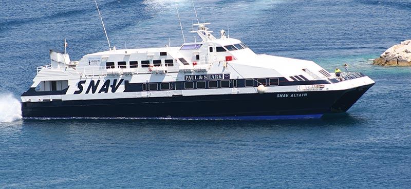 Monocarene e Catamarani Snav altair
