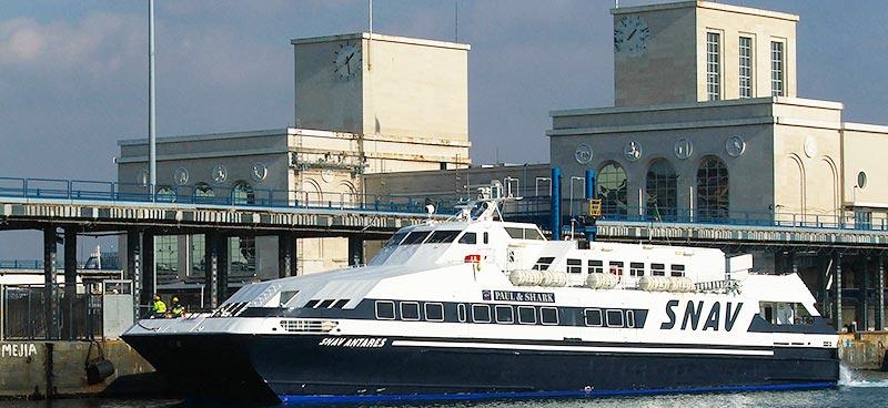Monocarene e Catamarani Snav antares