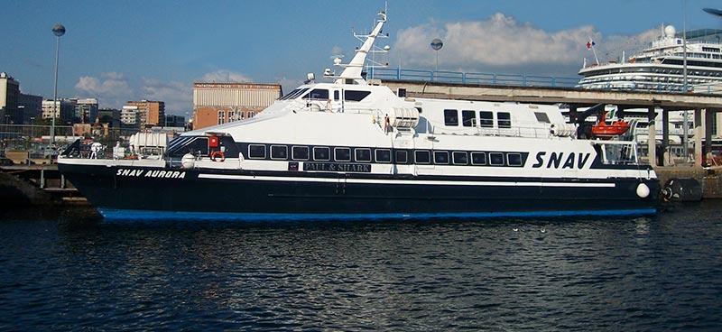 Monocarene e Catamarani Snav aurora