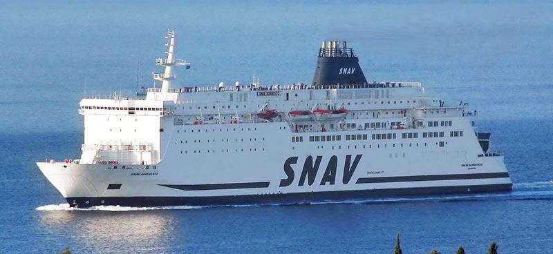 Nave Traghetto Snav snav adriatico