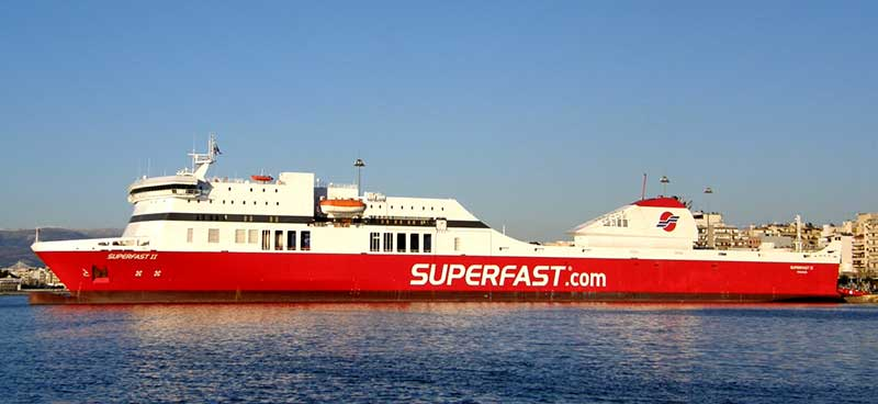 Nave Traghetto Superfast Ferries superfast II