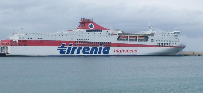 Navi Fast Cruise Tirrenia bonaria