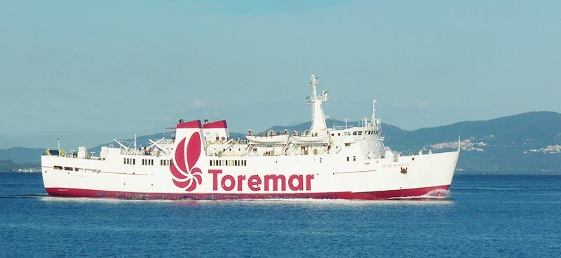 Nave Traghetto Toremar marmorica