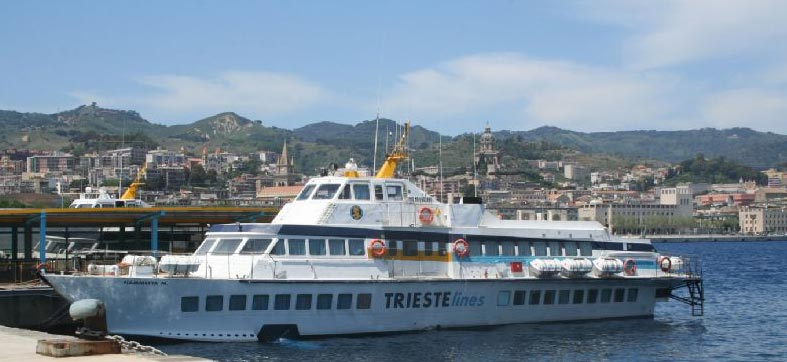 Aliscafi Trieste Lines fiammetta m